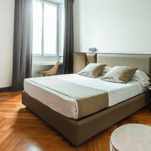 camera-doppia-letto matrimoniale-guest-house-castello-dove-dormire-a-milano